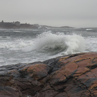 big surf at black point
